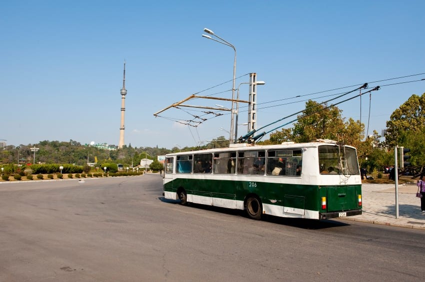 South Korea Bus transportation