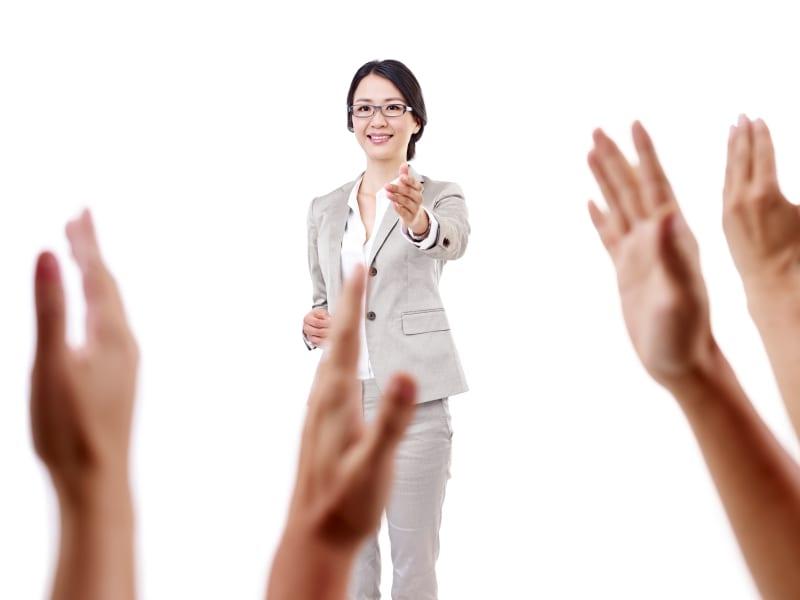 EPIK co-teacher Teaching English