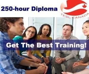 TESL Canada accreditation - TESOL Diploma