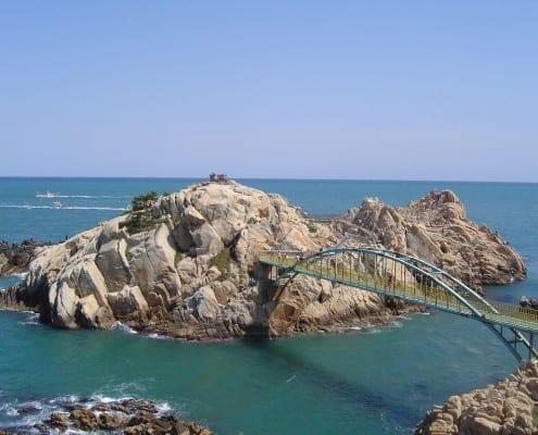 Teach English in Ulsan South Korea and visit Daewangnam Rock