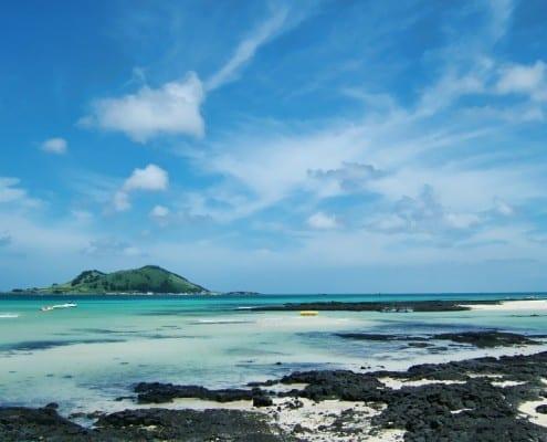 Teach English in Jeju Island and visit Hyeopjae beach