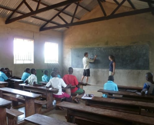 Teaching English abroad and traveling the world