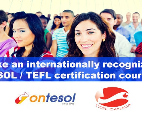 TESOL certification with job placement abroad