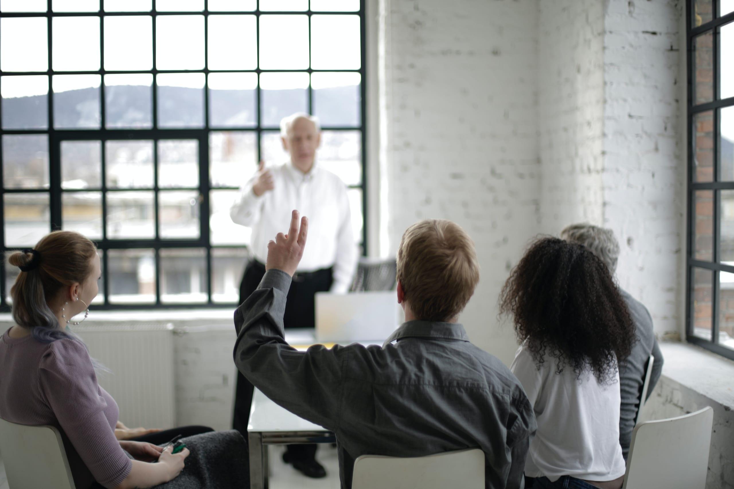 Teaching ESL using questions