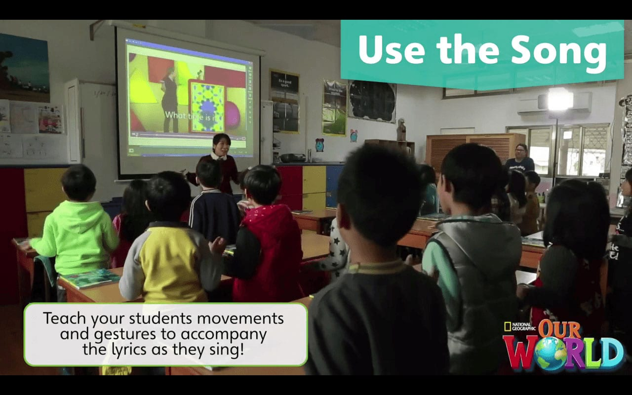 Using Songs to Teach English to Young Learners